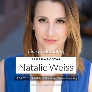 Broadway-Star Natalie Weiss