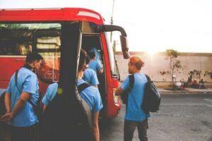 Musical-Busreise Fahrgäste