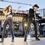 Josephin Busch und Udo Lindenberg rocken das Olympiastadion