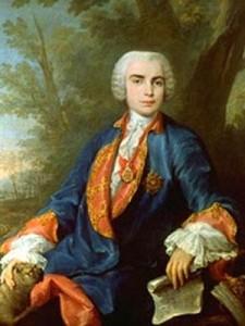 Farinelli, Falsett-Sänger des Barock, Gemälde von Corrado Giaquinto