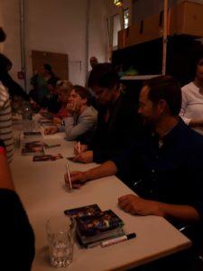 CD Signierung - Autogramme