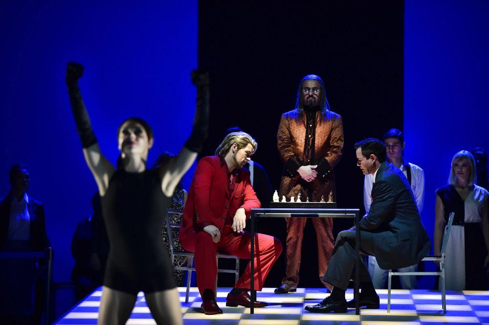 Die erste Schachpartie