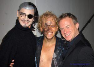 Chris Murray mit Christian Venzke und Frank Nimsgern