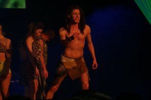 Christian Demme als Tarzan