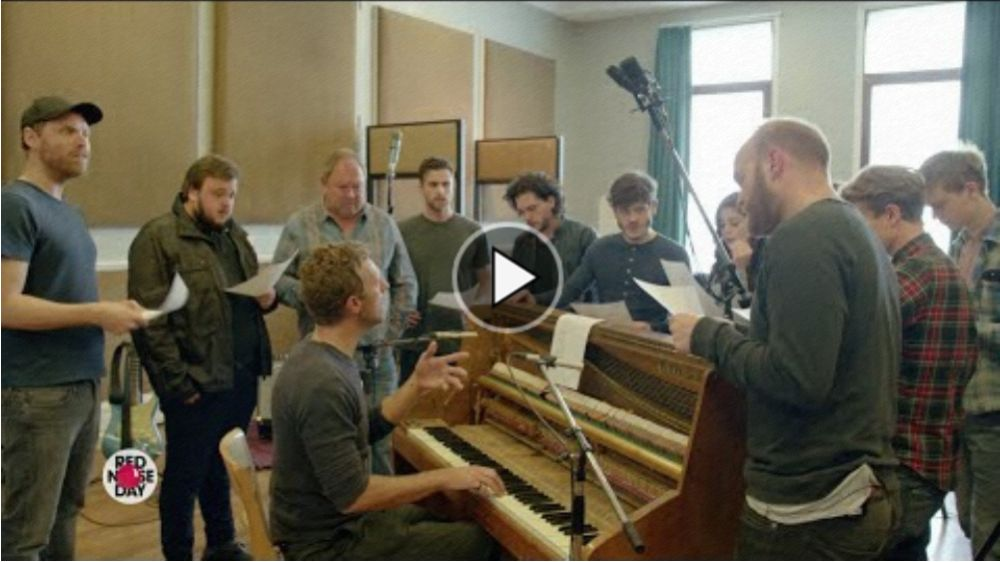 Coldplay und GoT-Darsteller