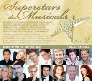 "CD ""DIE SUPERSTARS DES MUSICALS"""