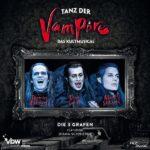"""TANZ DER VAMPIRE – """"Die drei Grafen"""" nun fürs Wohnzimmer"""