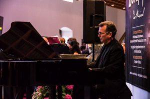 Sektempfang mit Pianisten