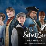 Musicalsommer 2015 in Fulda mit DIE SCHATZINSEL und DIE PÄPSTIN