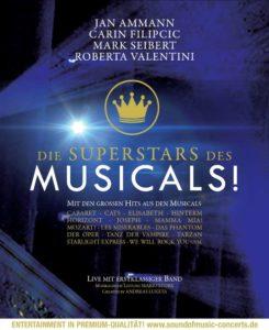 Die Superstars des Musicals Plakat