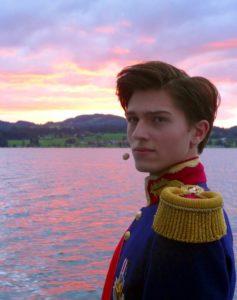 Elias Herrmann als jugendlicher Ludwig