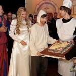 Präsentation der Elisabeth-Torte