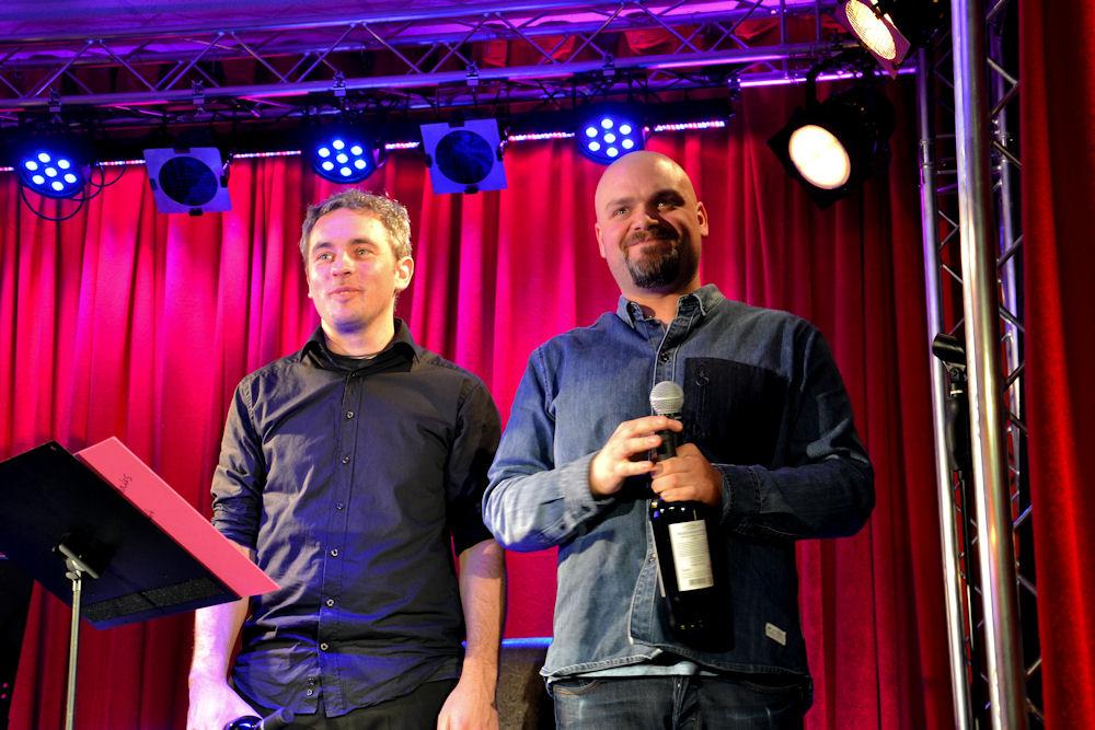 Enrico de Pieri und Hannes Schauz