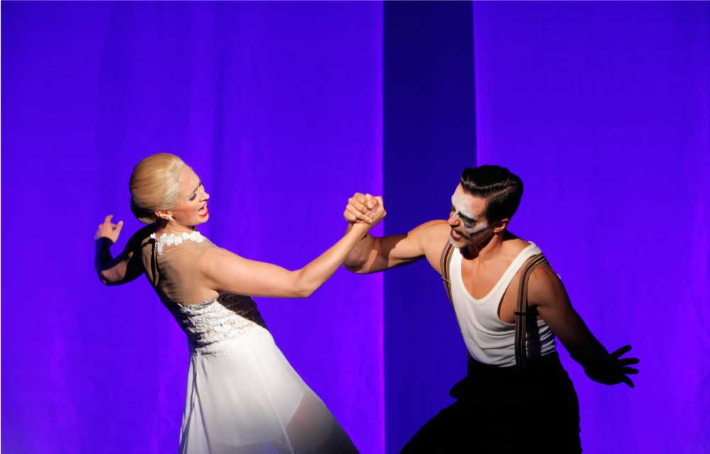 Der Walzer von Evita und Ché in Dresden