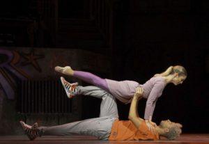 Tyrone und Iris tanzen