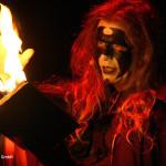 Mephisto in einer Szene aus FAUST