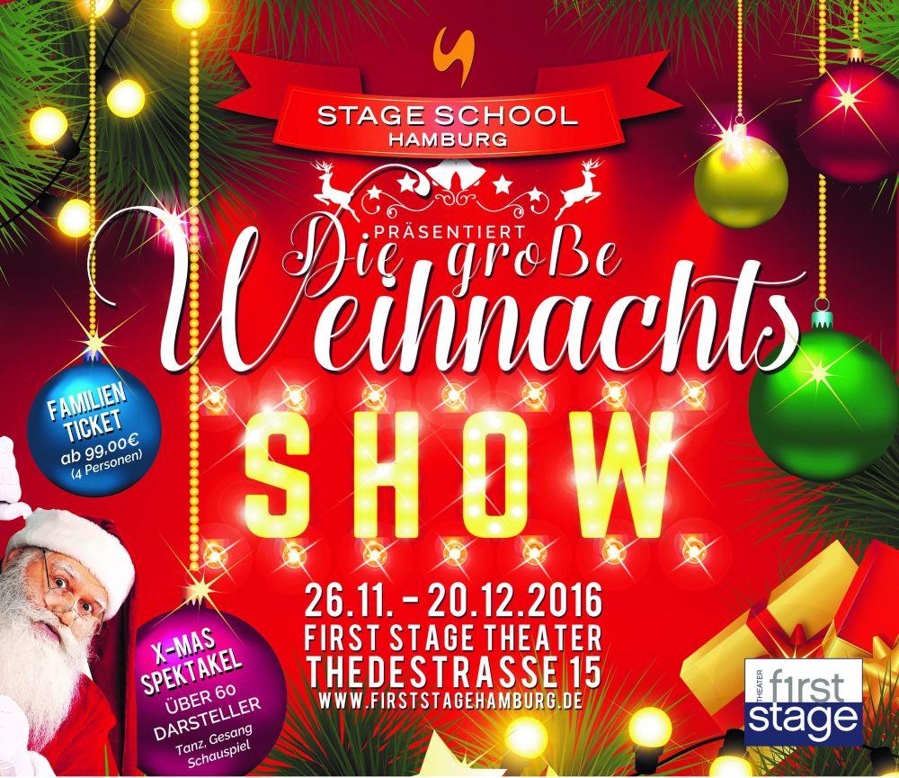 Verlosung: 1 x 2 Tickets für die First Stage Weihnachs-Show | Musical1