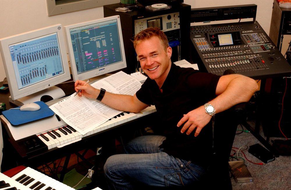 Frank Nimsgern im Studio