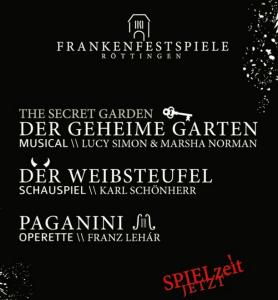 Plakat Frankenfestspiele Röttingen
