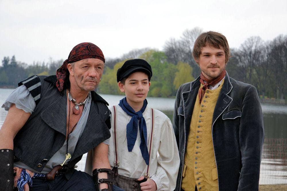 Frank Logemann, Friedrich Rau und Benjamin Klein