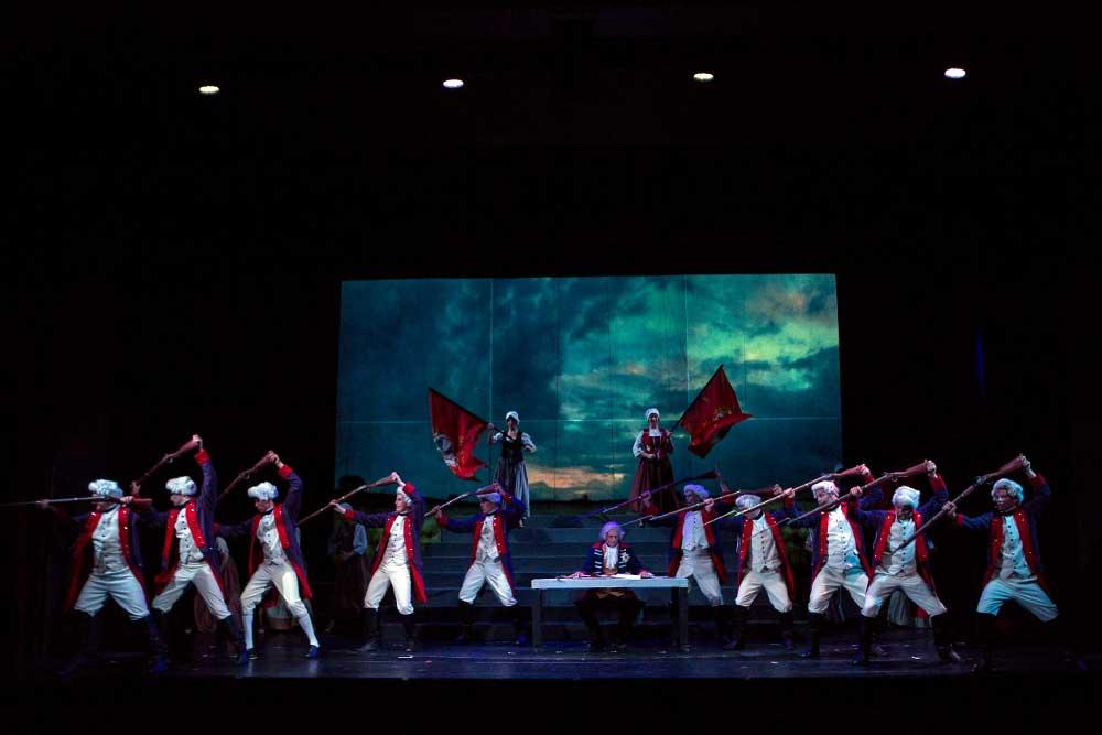 eine Szene aus dem Musical Friedrich - Mythos und Tragödie