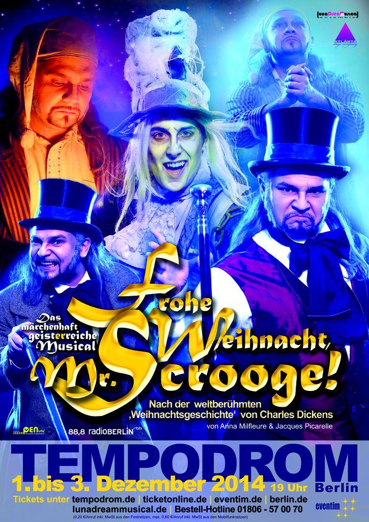 FROHE WEIHNACHT, MR. SCROOGE - Musical1