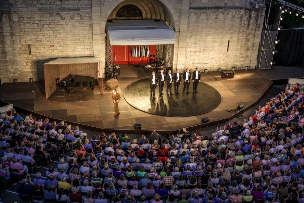 Gandersheimer Bühne Nacht