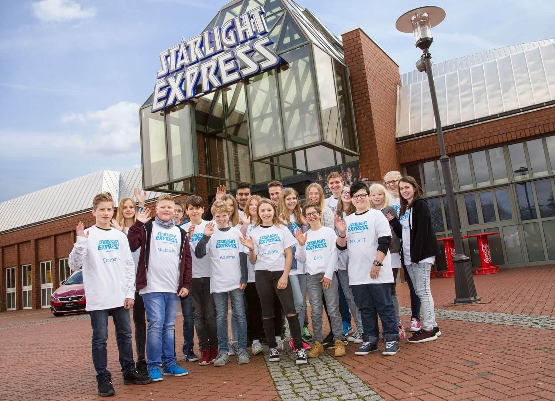Girls' und Boys' Day am 28.04.2016 bei Starlight Express in Bochum