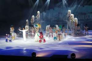 Finale von Holiday on Ice