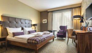 Zimmer im Hotel Aspria Uhlenhorst