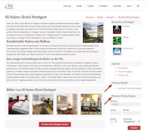 Hotel Detailseite Premium ohne Verweise weitere Hotels