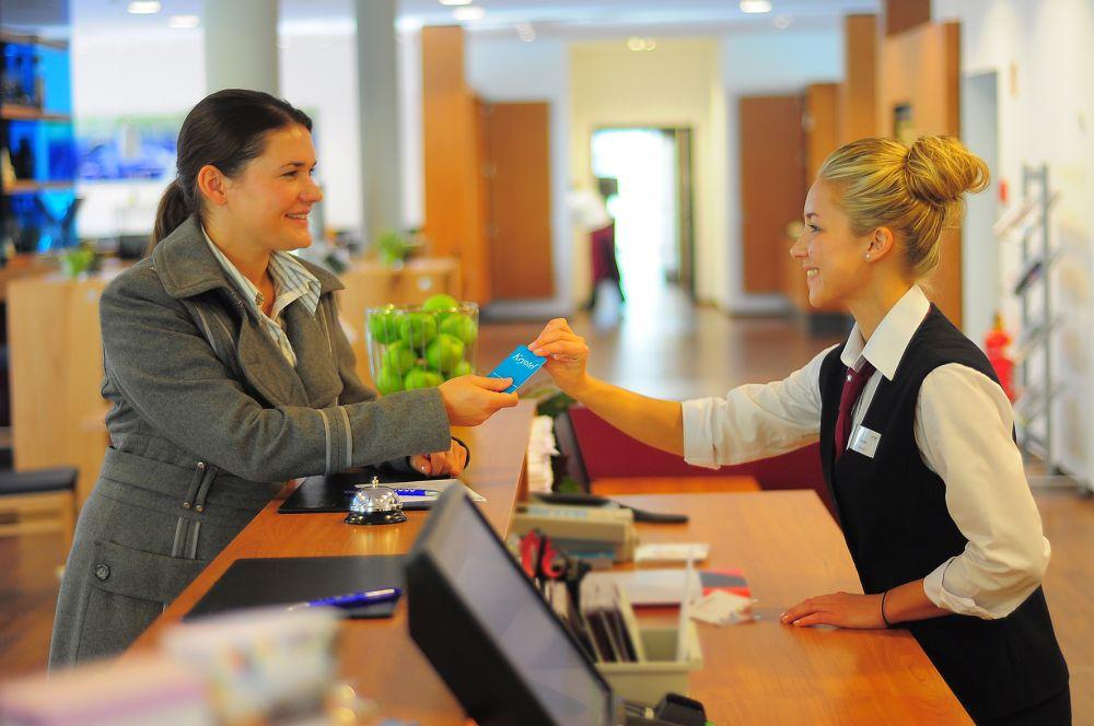 Hotel Franz Essen Rezeption