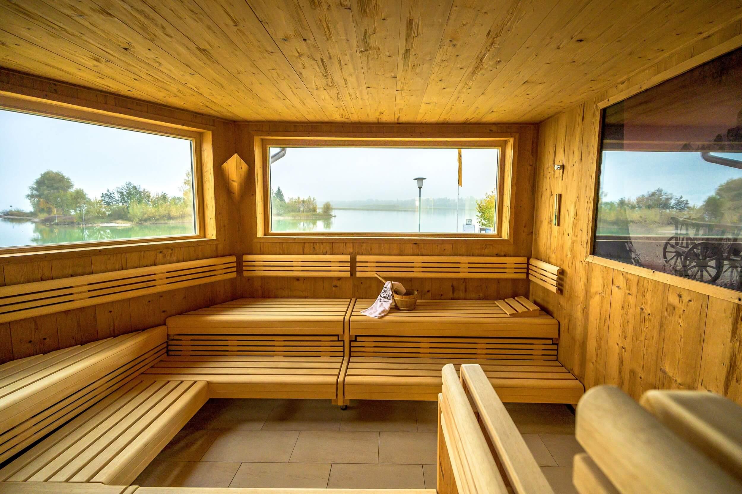 Urlaub- und Wellness-Hotel Sommer Füssen Sauna