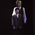Houdini als Kind und als Erwachsener