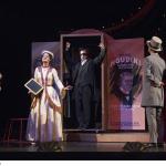 Houdini tritt als Medium auf