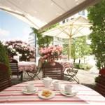 Hotel Madison Hamburg Terrasse
