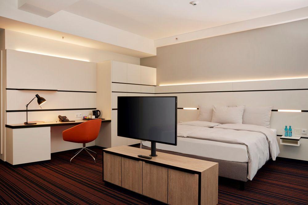 Hyperion Hotel Hamburg Zimmer Bett