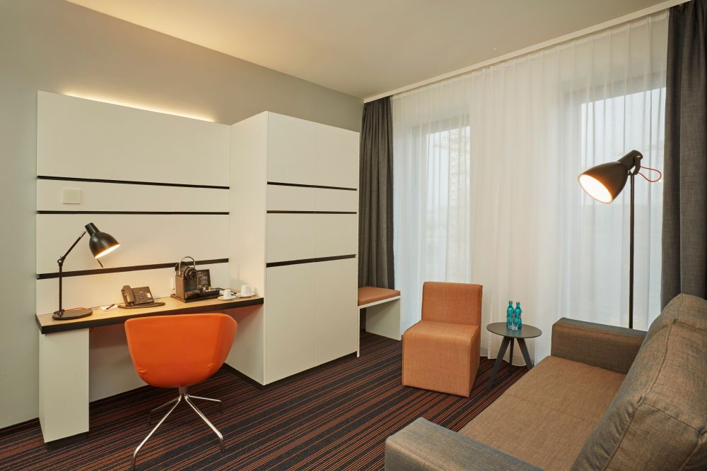 Hyperion Hotel Hamburg Zimmer