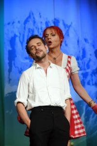 Aris Sas und Celine Bouvier