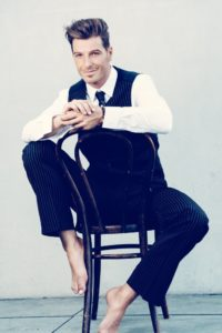 Jan Ammann sitzend