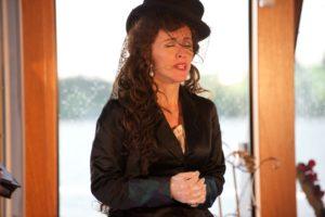 Janet Chvatal als Kaiserin Elisabeth