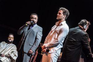 Darius Merstein als Pontius Pilatus, Alexander Klaws als Jesus