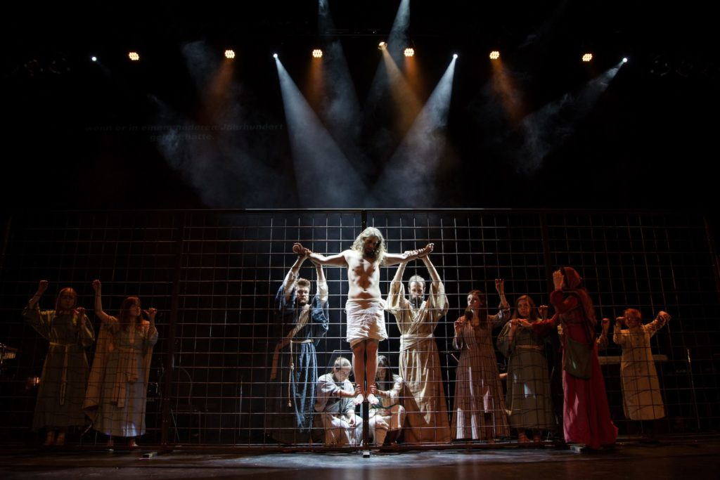 Jesus Christ Superstar in der Inszenierung des IntensivTheater
