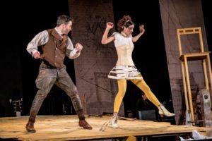 Karl und Ernestine Drais tanzen