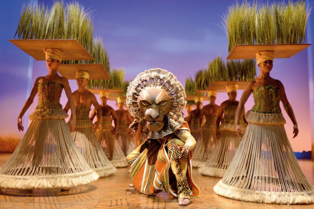 Der König der Löwen Graslands