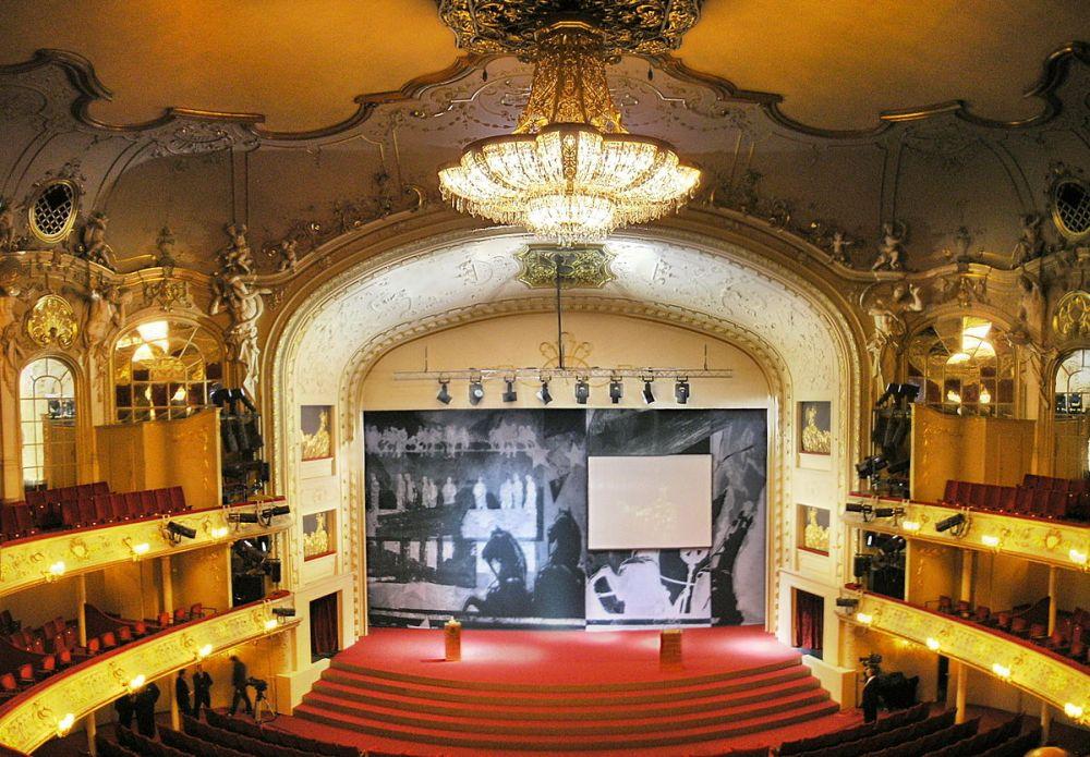 Komische Oper Berlin Theatersaal