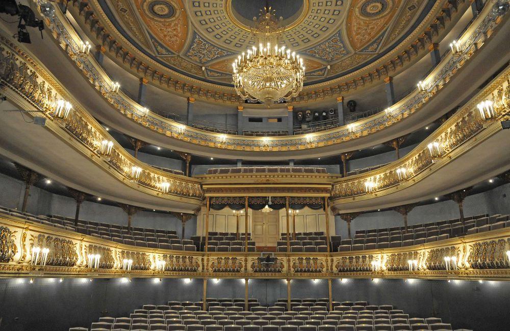 Landestheater Coburg Zuschauerraum