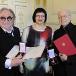 Michael Kunze und Sylvester Levay erhalten Österreichisches Ehrenkreuz