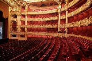 Logen in der Pariser Oper