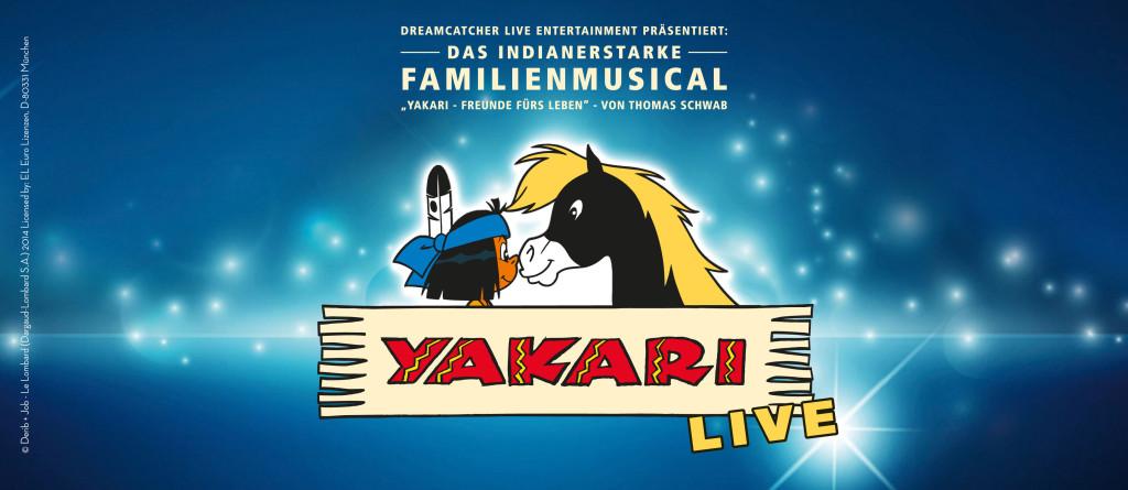 YAKARI-FREUNDE FÜRS LEBEN Logo